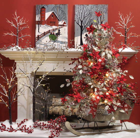 2014 RAZ Aspen Sweater Christmas Decorating Ideas_089