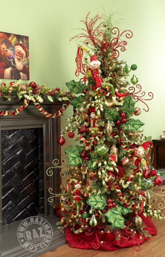 2014 RAZ Aspen Sweater Christmas Decorating Ideas_093