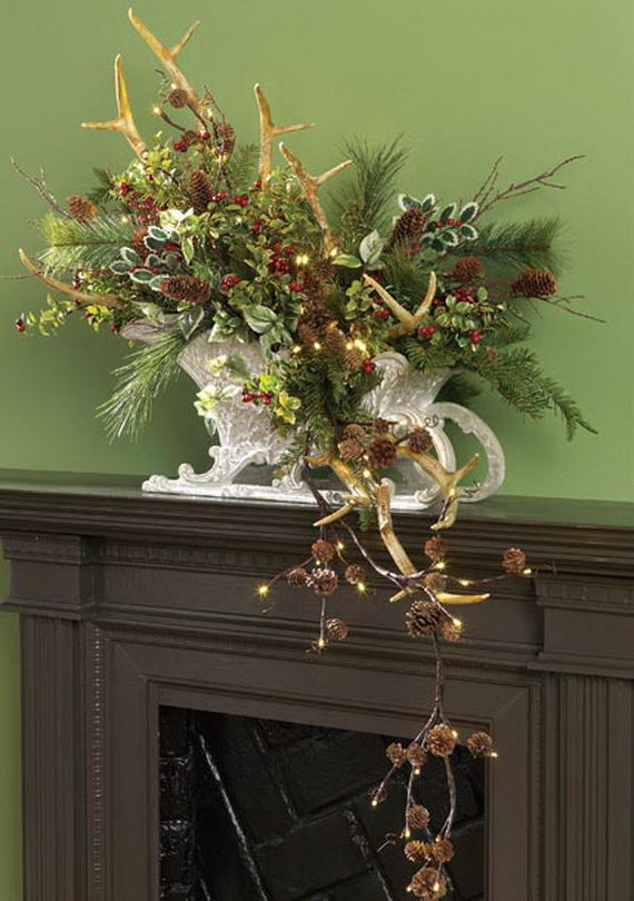 2014 RAZ Aspen Sweater Christmas Decorating Ideas_096