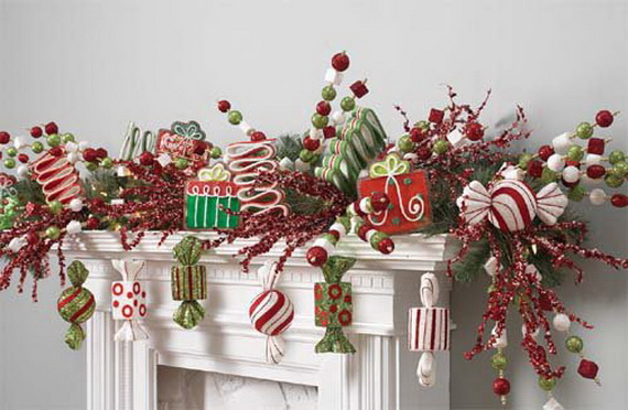 2014 RAZ Aspen Sweater Christmas Decorating Ideas_097