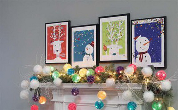2014 RAZ Aspen Sweater Christmas Decorating Ideas_101