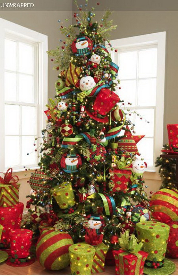 2014 RAZ Aspen Sweater Christmas Decorating Ideas_108