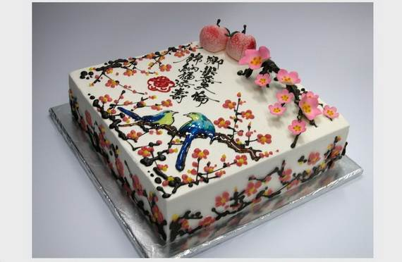 chinese cake decorating