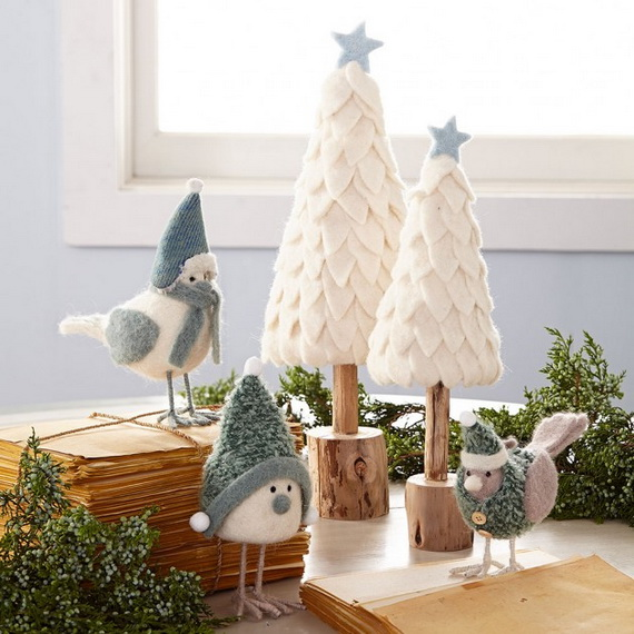 50 magnificent coastal themed christmas interior decor_06 - Coastal Themed Christmas Decorations