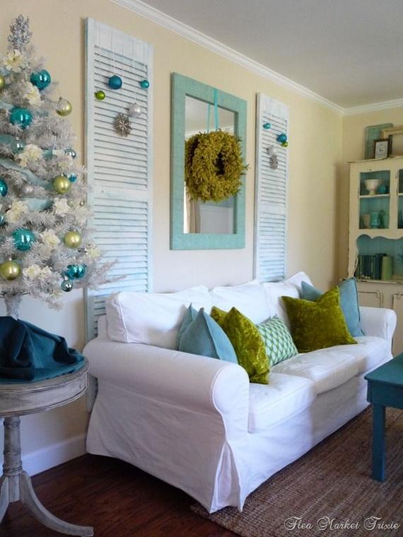 50 Magnificent Coastal-Themed Christmas Interior Decor_19
