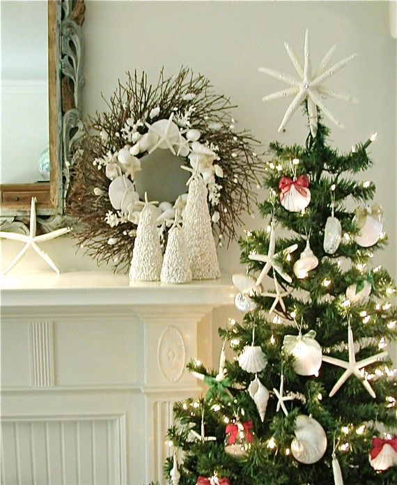 50 magnificent coastal themed christmas interior decor_42 - Coastal Themed Christmas Decorations