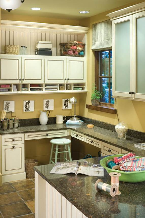 50amazing And Practical Craft Room Design Ideas And