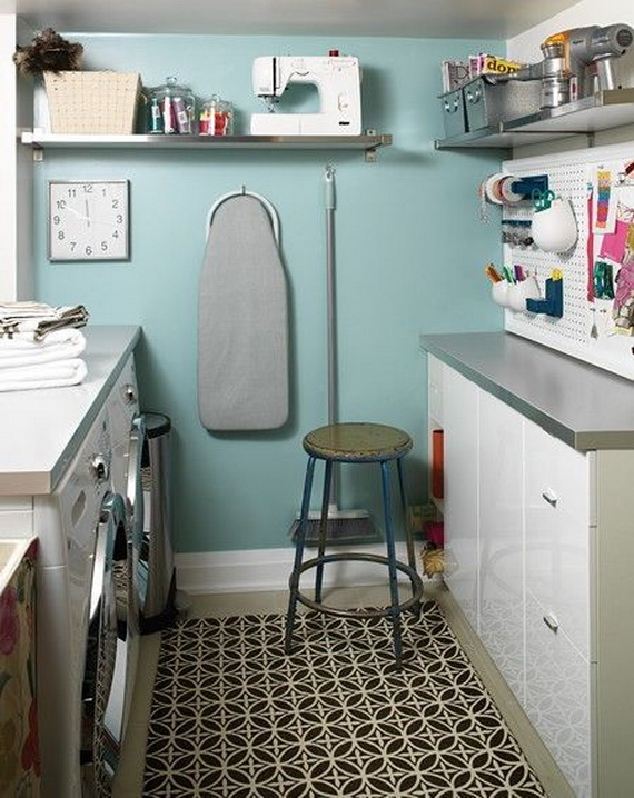 Beautiful craft and laundry room designs multi purpose laundry room family - Washing machines for small spaces photos ...