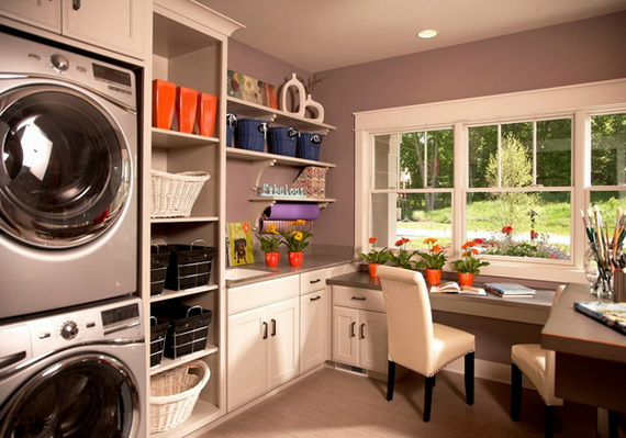Craft And Laundry Room Designs_27