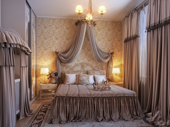 Elegant Bedroom design Ideas With A Lovely Color Scheme _41
