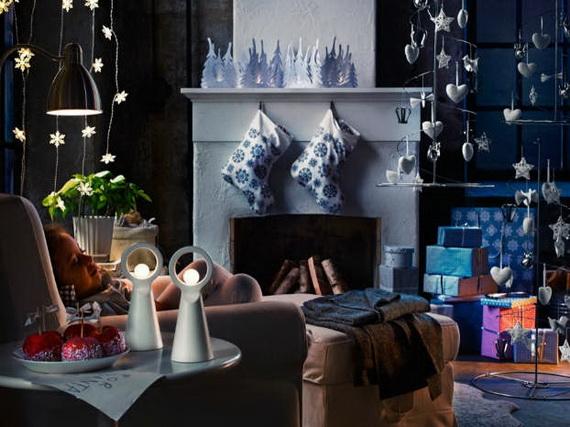 Elegant Christmas Country Living Room Decor Ideas_18