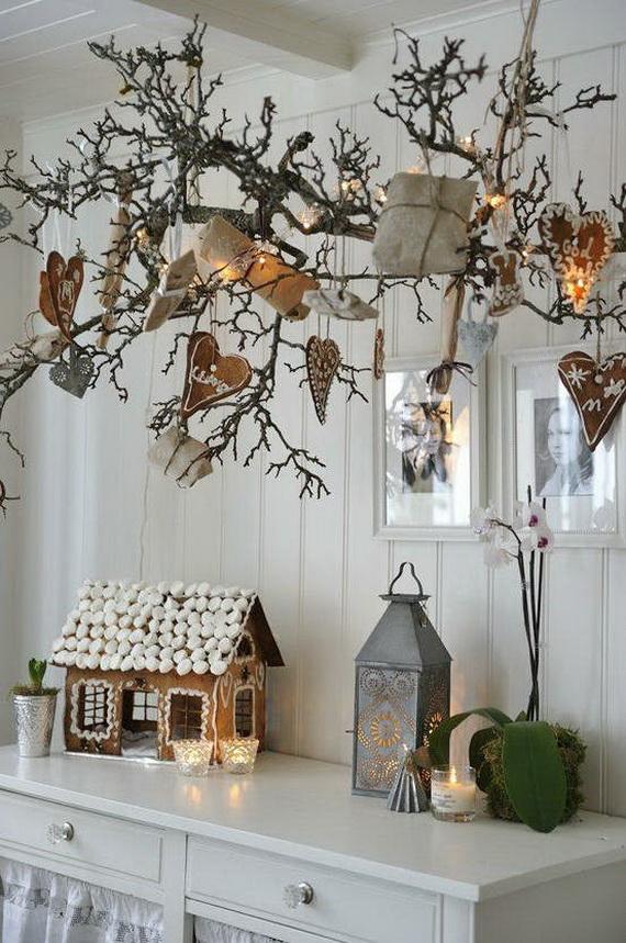 60 elegant christmas country living room decor ideas for Living room xmas ideas