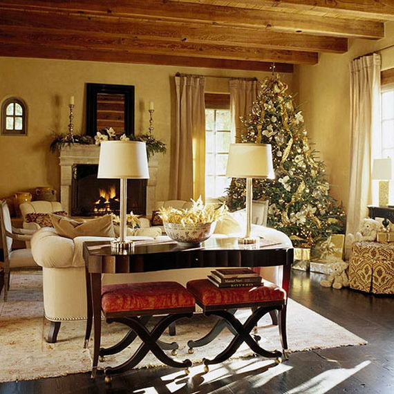 Decorating Ideas Elegant Living Rooms: 60 Elegant Christmas Country Living Room Decor Ideas