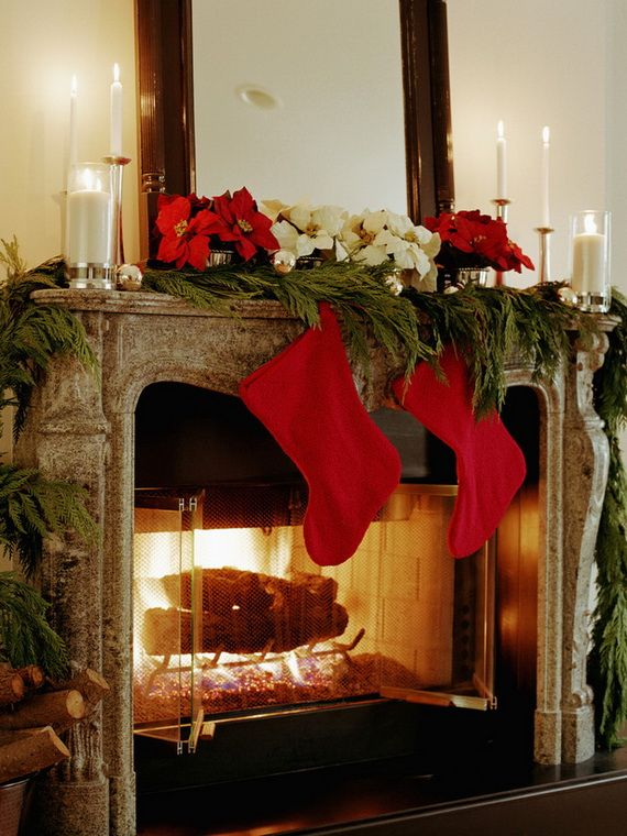 200171301 001 gorgeous fireplace mantel christmas decoration ideas _94 mantle5 p_100097577b p_100097580 p_101297528 - How To Decorate A Fireplace Hearth For Christmas