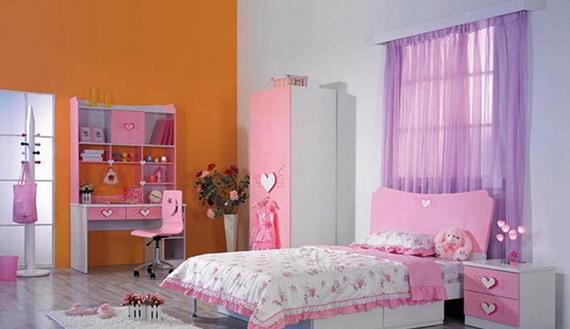 Heart Themed Interior Decor Kids Room Ideas_01