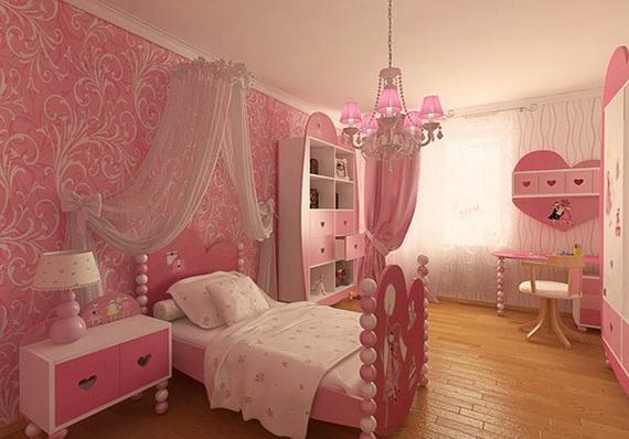 Heart Themed Interior Decor Kids Room Ideas_07