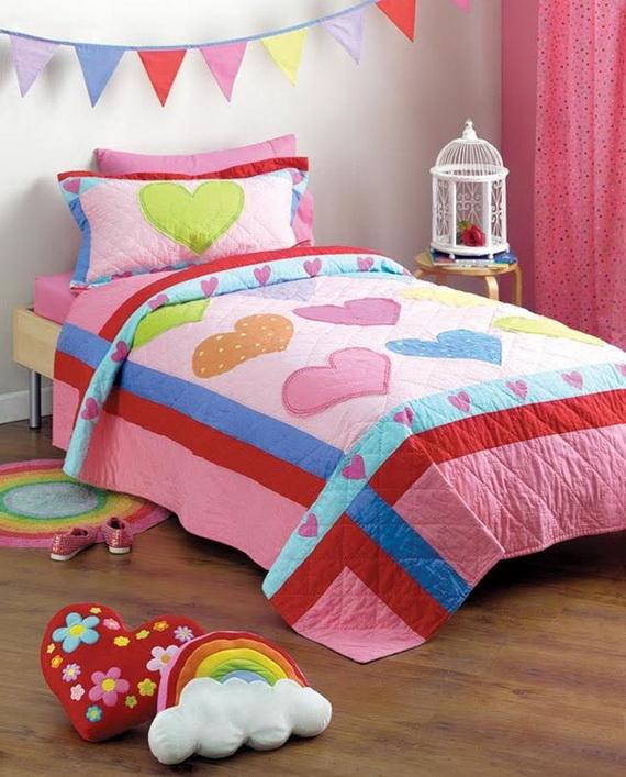 Heart Themed Interior Decor Kids Room Ideas_08