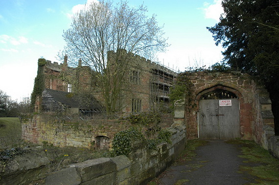 Astley Castle before restoration