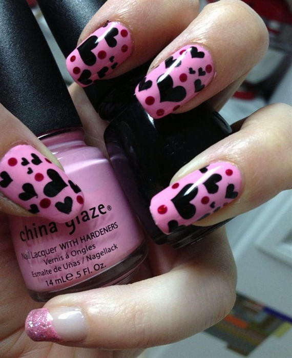 70 Lovely Valentine's Day Inspired Nail Art Ideas_10