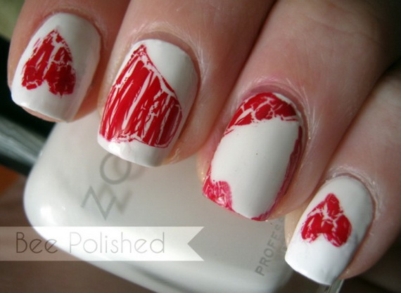 70 Lovely Valentine's Day Inspired Nail Art Ideas_12
