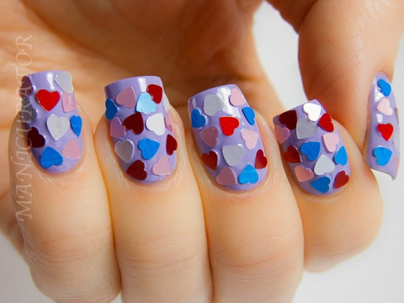 70 Lovely Valentine's Day Inspired Nail Art Ideas_15