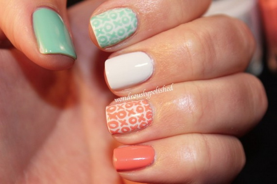 70 Lovely Valentine's Day Inspired Nail Art Ideas_25