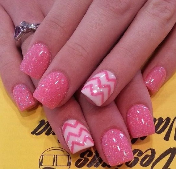 70 Lovely Valentine's Day Inspired Nail Art Ideas_38