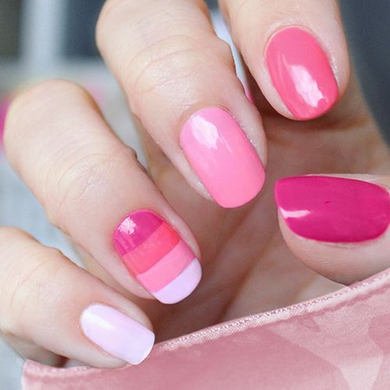 70 Lovely Valentine's Day Inspired Nail Art Ideas_39