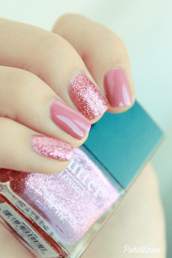 70 Lovely Valentine's Day Inspired Nail Art Ideas_40