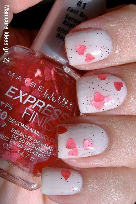 70 Lovely Valentine's Day Inspired Nail Art Ideas_41