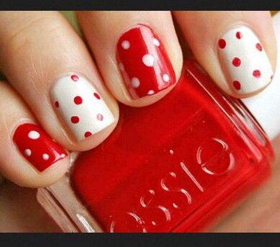 70 Lovely Valentine's Day Inspired Nail Art Ideas_44