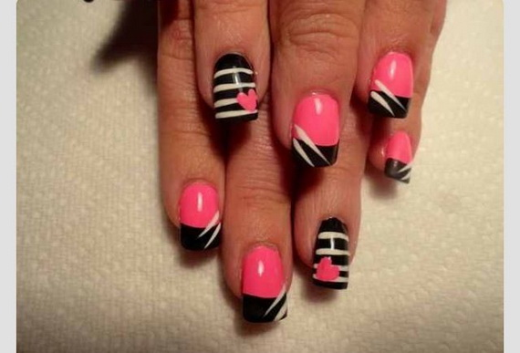 70 Lovely Valentine's Day Inspired Nail Art Ideas_51