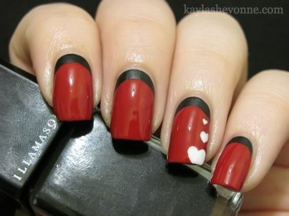 70 Lovely Valentine's Day Inspired Nail Art Ideas_53