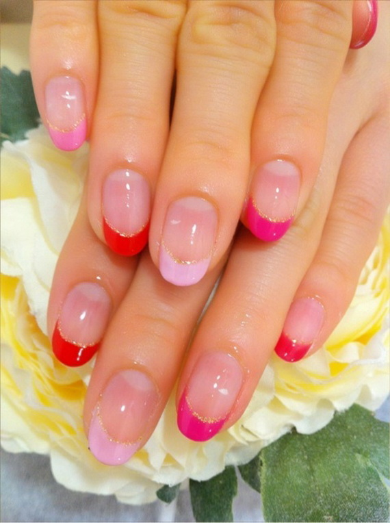 70 Lovely Valentine's Day Inspired Nail Art Ideas_62