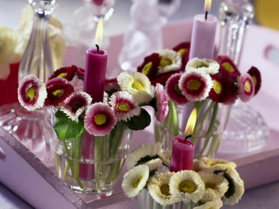 Amazing Romantic Table Centerpiece Decorating Ideas for Valentine's Day _13
