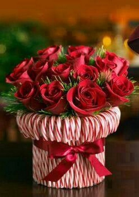 Amazing Romantic Table Centerpiece Decorating Ideas for Valentine's Day _25