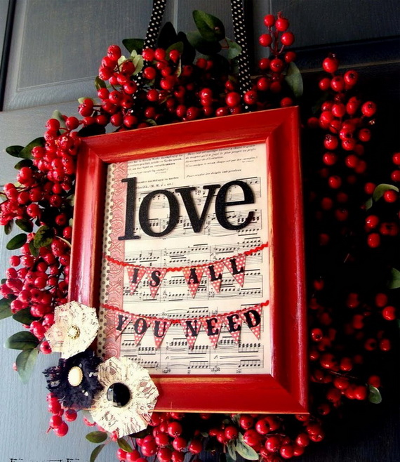 Cool Valentine's Day Wreath Ideas for 2014_07