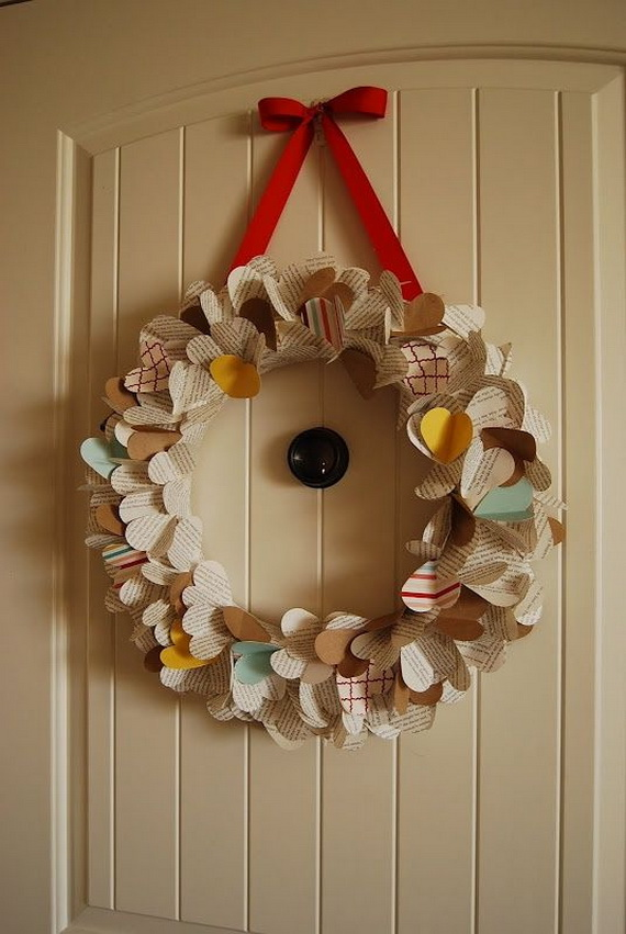 Cool Valentine's Day Wreath Ideas for 2014_12