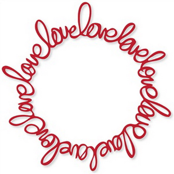 Cool Valentine's Day Wreath Ideas for 2014_15