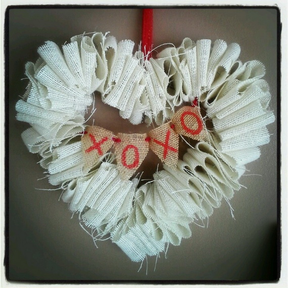 Cool Valentine's Day Wreath Ideas for 2014_16