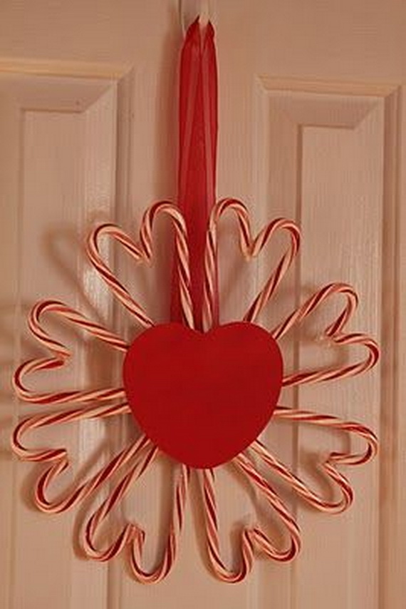 Cool Valentine's Day Wreath Ideas for 2014_17