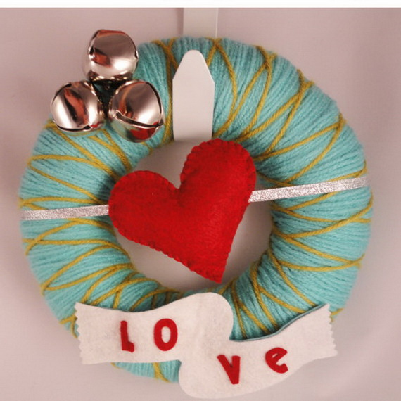 Cool Valentine's Day Wreath Ideas for 2014_22