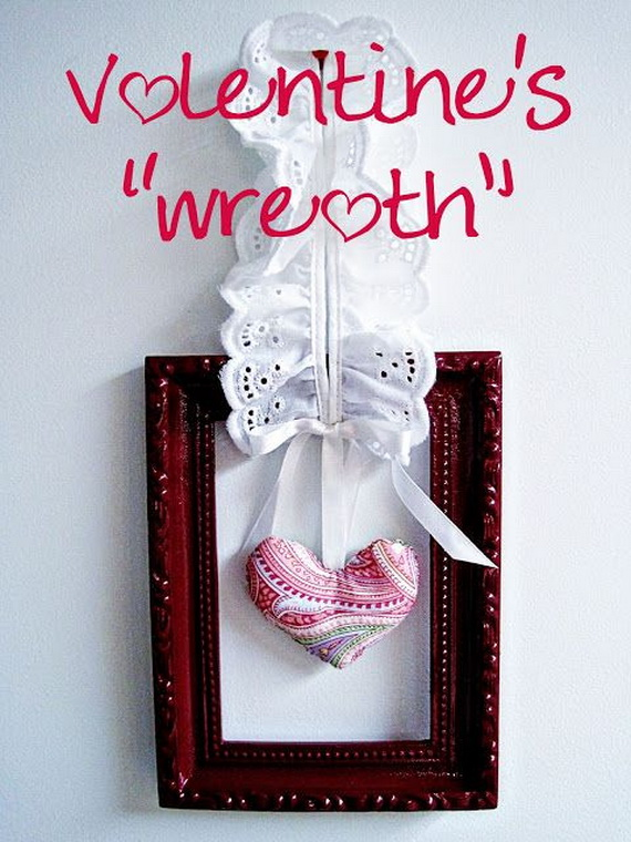 Cool Valentine's Day Wreath Ideas for 2014_25