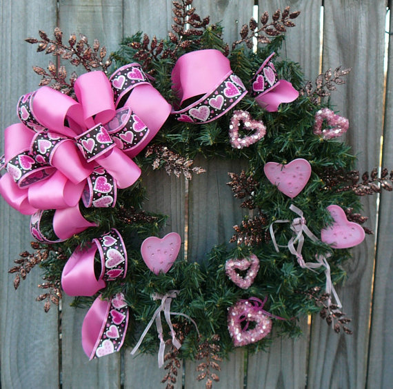 Cool Valentine's Day Wreath Ideas for 2014_27