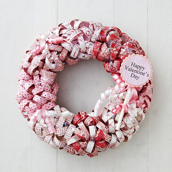 Cool Valentine's Day Wreath Ideas for 2014_33