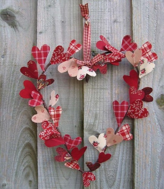 Cool Valentine's Day Wreath Ideas for 2014_50