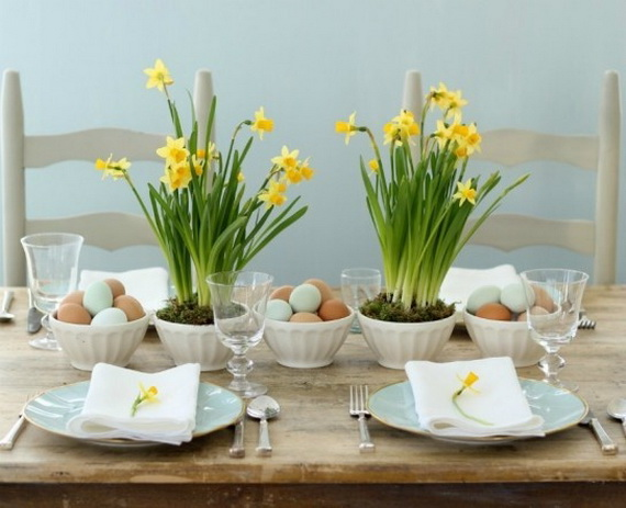 Creative Easter Centerpiece Ideas For Any Taste_06