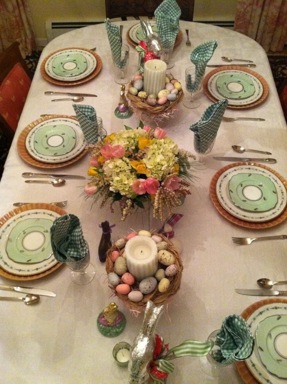 Creative Easter Centerpiece Ideas For Any Taste_30