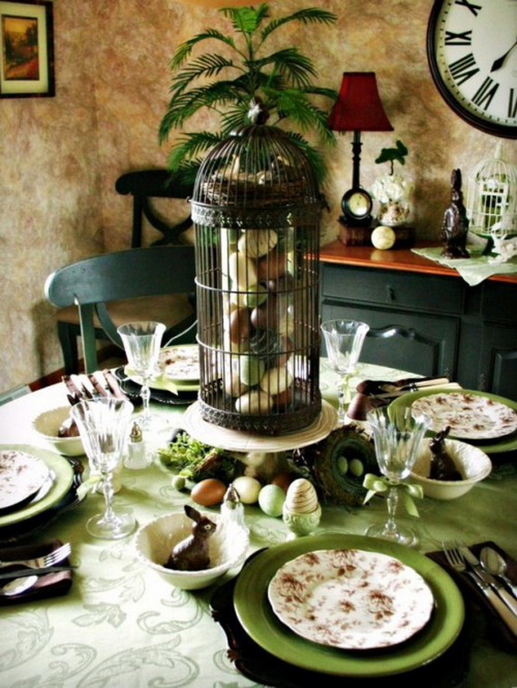 Creative Easter Centerpiece Ideas For Any Taste_45