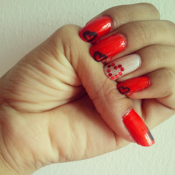 Creative Nail Art Designs for Valentine's Day 2014__06